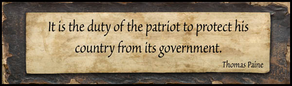 Duty Of a Patriot: