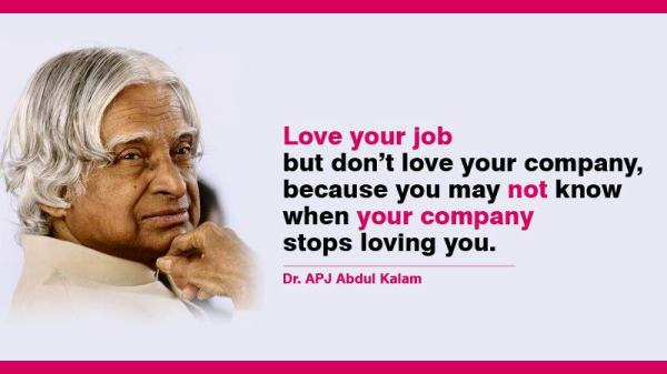 Love Your Job; But Not The Company
